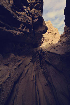 Anza Borrego Desert Photograph - A Very Tight Squeeze by Laurie Search