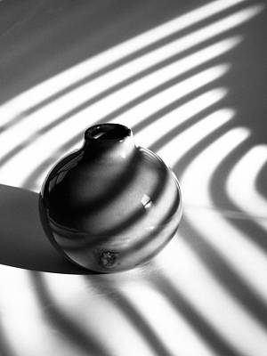 Photograph - A Vessel...black And White by Tom Druin