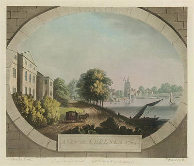 Chelsea Photograph - A View At Chelsea by British Library