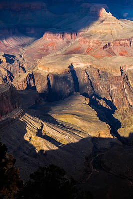 Photograph - A View Down At Hopi Point by Ed Gleichman