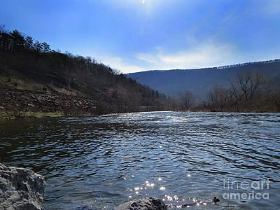 Photograph - A View Down River by Dawn Gari
