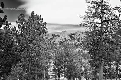 Photograph - A View From Estes Park by Guy Whiteley