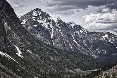 Photograph - A View From Mount Edith Cavell by Stuart Litoff