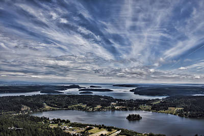Photograph - A View From Mt. Erie by Jeff Swanson