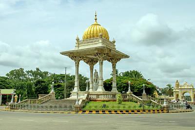 Karnataka Photograph - A View From Mysore, Karnataka by Dethan Punalur