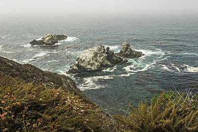 Photograph - A View From The Pacific Coast Highway  California by Willie Harper