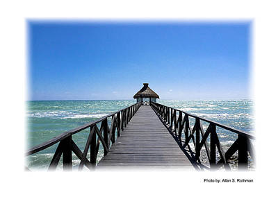 Photograph - A View From The Pier by Allan Rothman