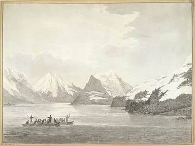 During Photograph - A View In Prince William Sound by British Library
