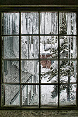 Photograph - A View Into Winter by Wes and Dotty Weber