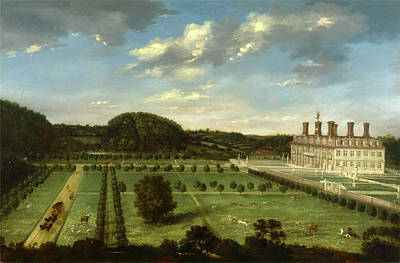 Weathervane Painting - A View Of Bayhall, Pembury, Kent Richard Amhersts Manor by Litz Collection