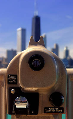 Photograph - A View Of Chicago by Daniel Woodrum