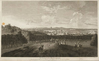 A View Of Greenwich Park Print by British Library