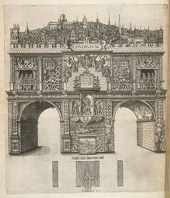 A View Of London Art Print by British Library