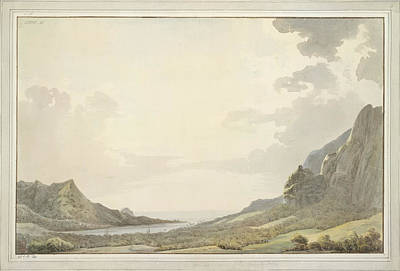 During Photograph - A View Of Papetoai Bay by British Library