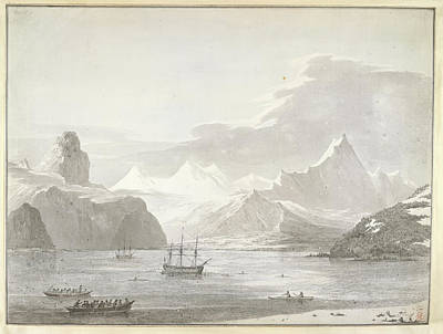 Canoe Photograph - A View Of Snug Corner Cove by British Library