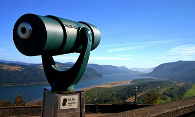 Photograph - A View Of The Columbia River Valley by Daniel Woodrum
