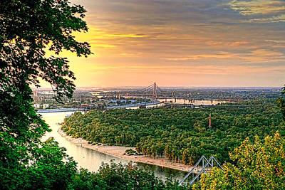 Dnieper Wall Art - Photograph - A View Of The Dneiper by Matt Create