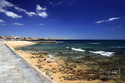 Photograph - A View Of The Estoril Coast by John Rizzuto