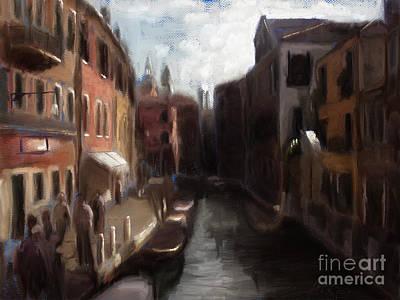 A View Of Venice Art Print