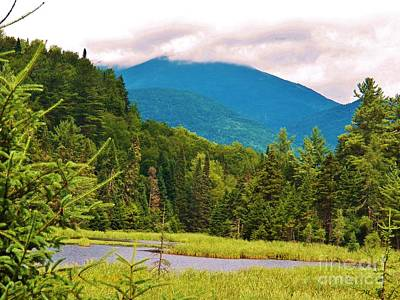 Photograph - A View Of Whiteface Mountain by Judy Via-Wolff