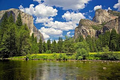 Photograph - A View Of Yosemite by Joe Urbz