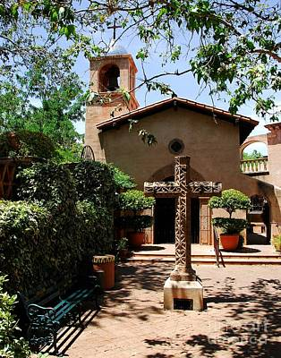 Tlaquepaque Photograph - A Village Chapel by Mel Steinhauer