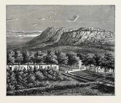 A Village In The Orange Free State Art Print