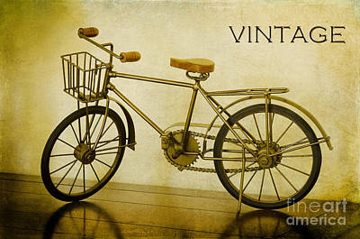 Photograph - A Vintage Bike by MaryJane Armstrong