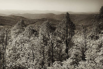A Vintage Blue Ridge View Original by Phill Doherty