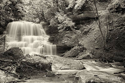 A Vintage View Of Decew Falls Original