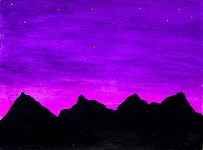 Painting - A Violet Dream by Nieve Andrea