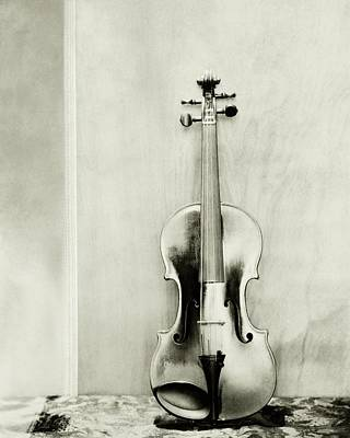 Titian Photograph - A Violin by Edward Steichen