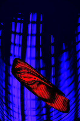 Virtual Microbe Art Print
