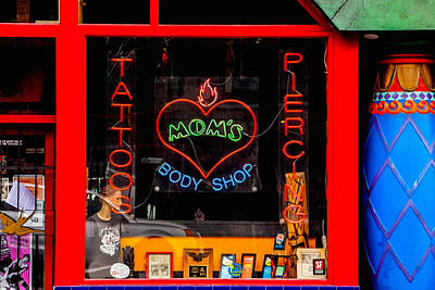 Haight Ashbury Wall Art - Photograph - A Visit To Mom's by Art Block Collections