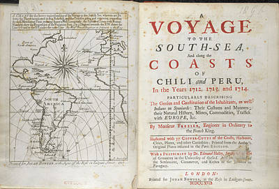 A Voyage To The South Sea Art Print by British Library