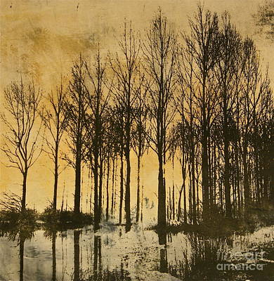 Fading Painting - A Walk In France- Lithograph by Deborah Talbot - Kostisin