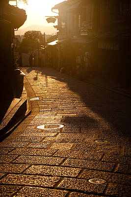 Photograph - A Walk In Kyoto by Brad Brizek