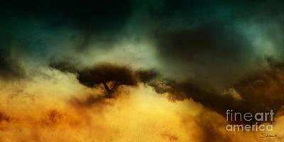 A Walk In The Clouds Art Print by Shevon Johnson