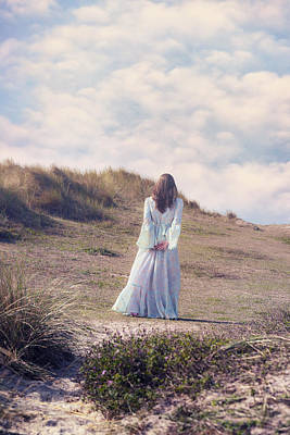 Thoughtful Photograph - A Walk In The Dunes by Joana Kruse
