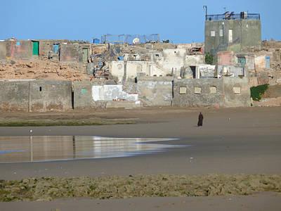 Agadir Photograph - A Walk On The Beach by Tracy Winter