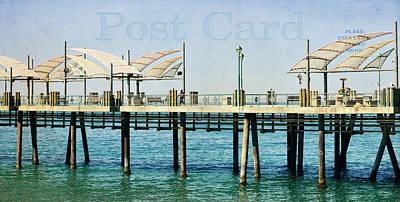Redondo Beach Pier Wall Art - Photograph - A Walk On The Pier by Fraida Gutovich