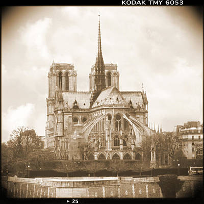Notre Dame Cathedral Photograph - A Walk Through Paris 25 by Mike McGlothlen