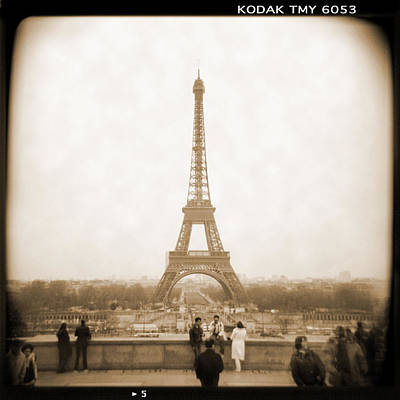 Square Art Digital Art - A Walk Through Paris 5 by Mike McGlothlen
