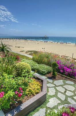 Photograph - A Walk To The Beach  by David Zanzinger