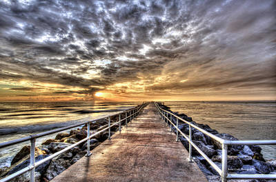 Photograph - A Walk To The Horizon by Brent Craft