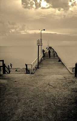 Photograph - A Walk To The World by Maria  Disley
