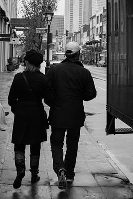 Photograph - A Walk Together by Nathan Hillis