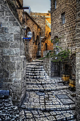 Photograph - A Walkway In Jaffa by Ken Smith