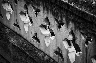 Photograph - A Wall Between Gardens by Christi Kraft