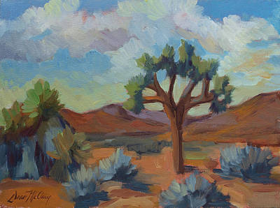 Painting - A Warm Morning At Joshua 1 by Diane McClary